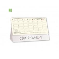 Chamois asztali naptár