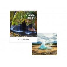 Aqua falinaptár