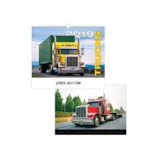 Trucks - Kamionok falinaptár