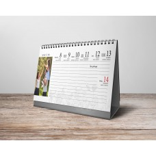 Egyedi asztali naptár